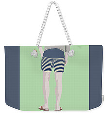By The Bay Weekender Tote Bag by Nicole Wilson