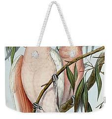Cacatua Leadbeateri Weekender Tote Bag by John Gould