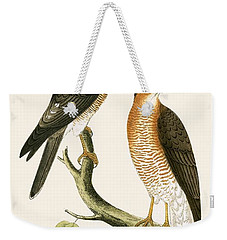 Calcutta Sparrow Hawk Weekender Tote Bag by English School