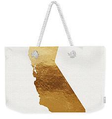 California Gold- Art By Linda Woods Weekender Tote Bag by Linda Woods