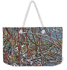 Camouflaged Look Weekender Tote Bag by Asbed Iskedjian