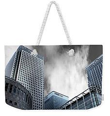 Canary Wharf Weekender Tote Bag by Martin Newman
