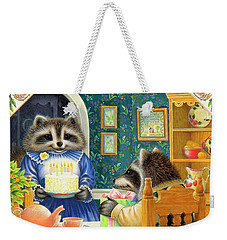 Candles On The Cake Weekender Tote Bag by Lynn Bywaters