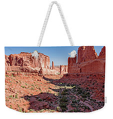 Weekender Tote Bag featuring the photograph Arches National Park, Moab, Utah by A Gurmankin