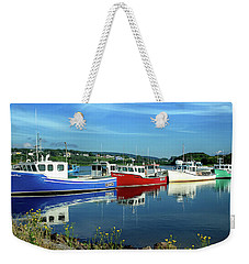 Weekender Tote Bag featuring the photograph Cape Breton Island by Rodney Campbell