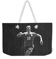 Carli Lloyd Weekender Tote Bag by Semih Yurdabak