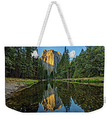 Cathedral Rocks Morning Weekender Tote Bag by Peter Tellone