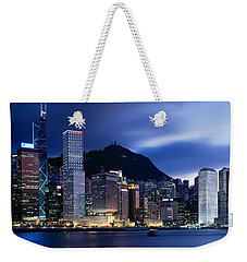 Central District Hong Kong Asia Weekender Tote Bag by Panoramic Images