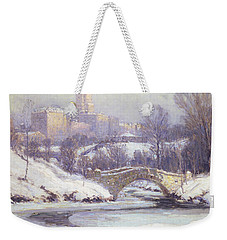 Central Park Weekender Tote Bag by Colin Campbell Cooper