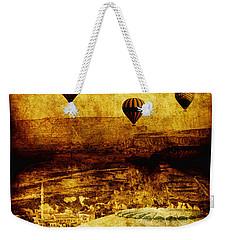 Cerebral Hemisphere Weekender Tote Bag by Andrew Paranavitana