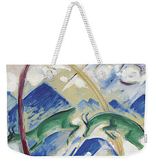 Chamois Weekender Tote Bag by Franz Marc