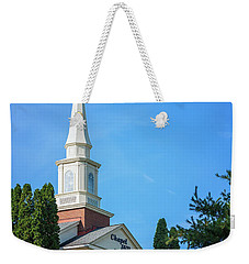 Chapel Hill Golf Course Clubhouse Weekender Tote Bag by Tom Mc Nemar
