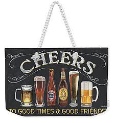 Cheers  Weekender Tote Bag by Debbie DeWitt