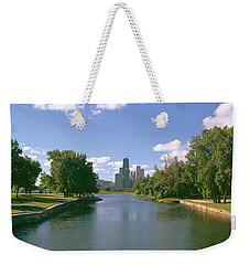 Chicago From Lincoln Park, Illinois Weekender Tote Bag by Panoramic Images