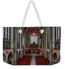 Chicago Rockefeller Chapel Weekender Tote Bag by Mike Burgquist