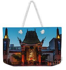 Chinese Theatre Weekender Tote Bag by Art K