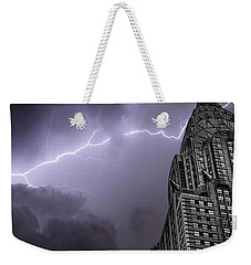 Chrysler Building Weekender Tote Bag by Martin Newman