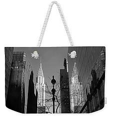 Chrysler Contrast Weekender Tote Bag by Jessica Jenney