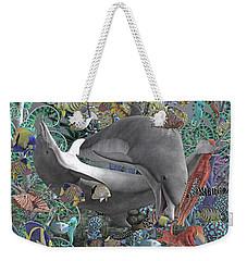 Circle Of Friends Weekender Tote Bag by Betsy Knapp