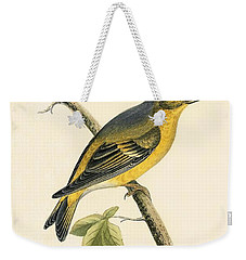 Citril Finch Weekender Tote Bag by English School