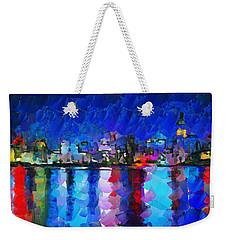 City Limits Tokyo Weekender Tote Bag by Sir Josef Social Critic - ART