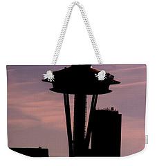 City Needle Weekender Tote Bag by Tim Allen