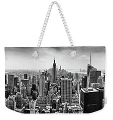 Classic New York  Weekender Tote Bag by Az Jackson