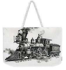 Classic Steam Weekender Tote Bag by James Williamson