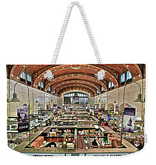 Classic Westside Market Weekender Tote Bag by Frozen in Time Fine Art Photography