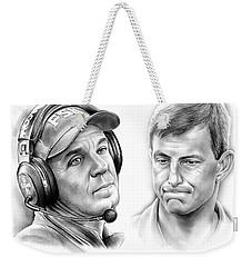 Clemson Vs Florida State Weekender Tote Bag by Greg Joens
