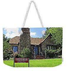 Clinton House Museum 1 Weekender Tote Bag by Randall Weidner
