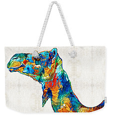 Colorful Camel Art By Sharon Cummings Weekender Tote Bag by Sharon Cummings