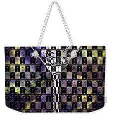 Colorful  Classic Martini Weekender Tote Bag by Jon Neidert