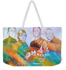 Colorful Coldplay Weekender Tote Bag by Dan Sproul