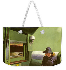 Compartment C Weekender Tote Bag by Edward Hopper