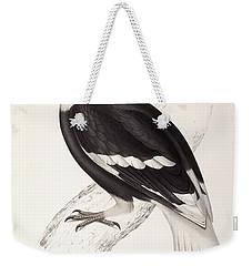 Concave Hornbill Weekender Tote Bag by John Gould