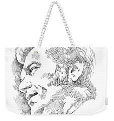 Conway Twitty Weekender Tote Bag by Greg Joens