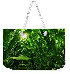 Corn Field Weekender Tote Bag by Carlos Caetano