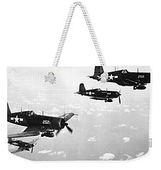 Corsair Planes  Us Airforce Weekender Tote Bag by American School
