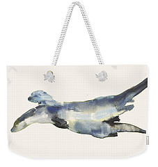 Courting Otters  Weekender Tote Bag by Mark Adlington