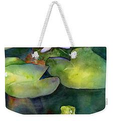 Coy Koi Weekender Tote Bag by Amy Kirkpatrick