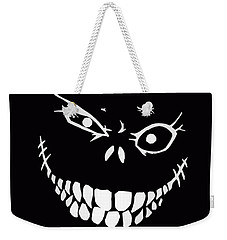 Crazy Monster Grin Weekender Tote Bag by Nicklas Gustafsson