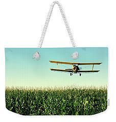 Crops Dusted Weekender Tote Bag by Todd Klassy