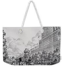 Crystal Palace Weekender Tote Bag by Pat Nicolle
