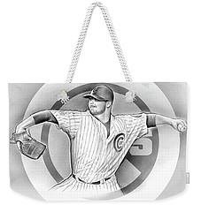 Cubs 2016 Weekender Tote Bag by Greg Joens