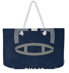 Dallas Cowboys Vintage Art Weekender Tote Bag by Joe Hamilton