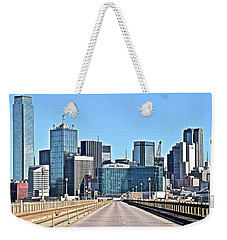 Dallas Straight Ahead In 2016 Weekender Tote Bag by Frozen in Time Fine Art Photography