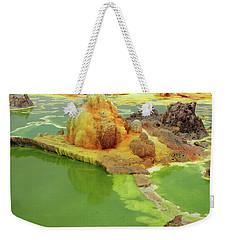 Dallol Volcanic Crater, Ethiopia Weekender Tote Bag by Aidan Moran