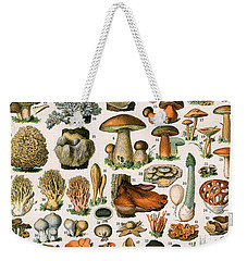 Decorative Print Of Champignons By Demoulin Weekender Tote Bag by American School
