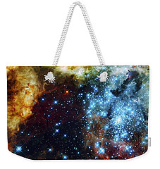 Deep Space Fire And Ice 2 Weekender Tote Bag by Jennifer Rondinelli Reilly - Fine Art Photography